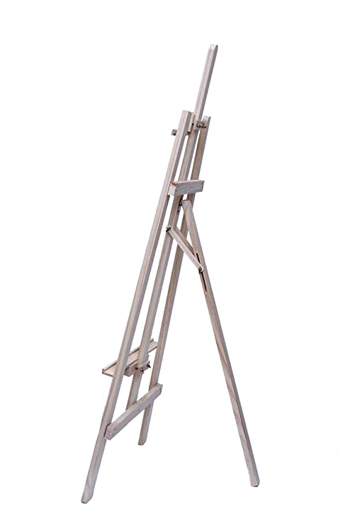 Wooden Adjustable A-Frame Artist Studio Easel Stand Easel