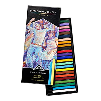 PrismaColor ART STIX Woodless Colored Pencils 24-Set