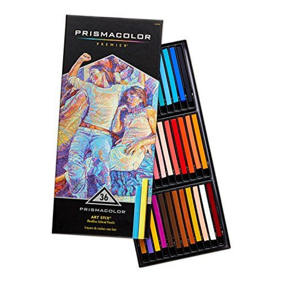 PrismaColor ART STIX Woodless Colored Pencils 36-Set