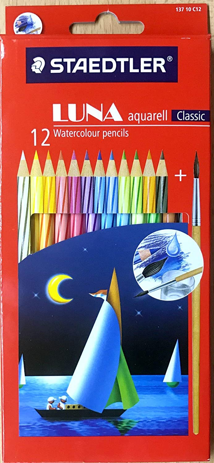 Staedtler Luna Water Colour Pencil Set - Pack of 12