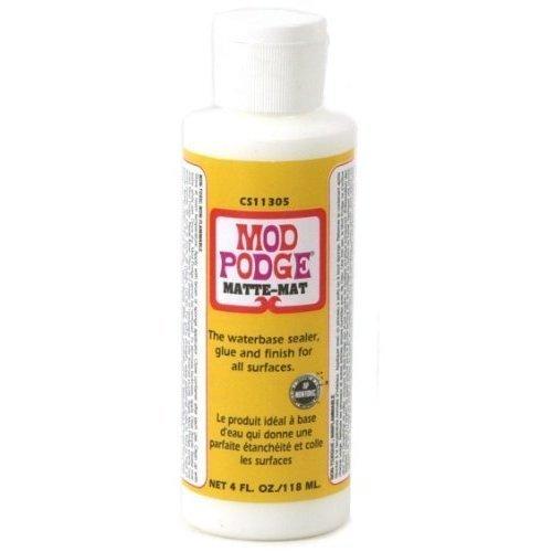 Mod Podge Mat Glue and Sealer Bottle (118ml)