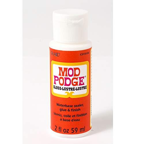 Mod Podge Gloss Water-Based Glue Sealer & Finish (59ml-2 fl oz)