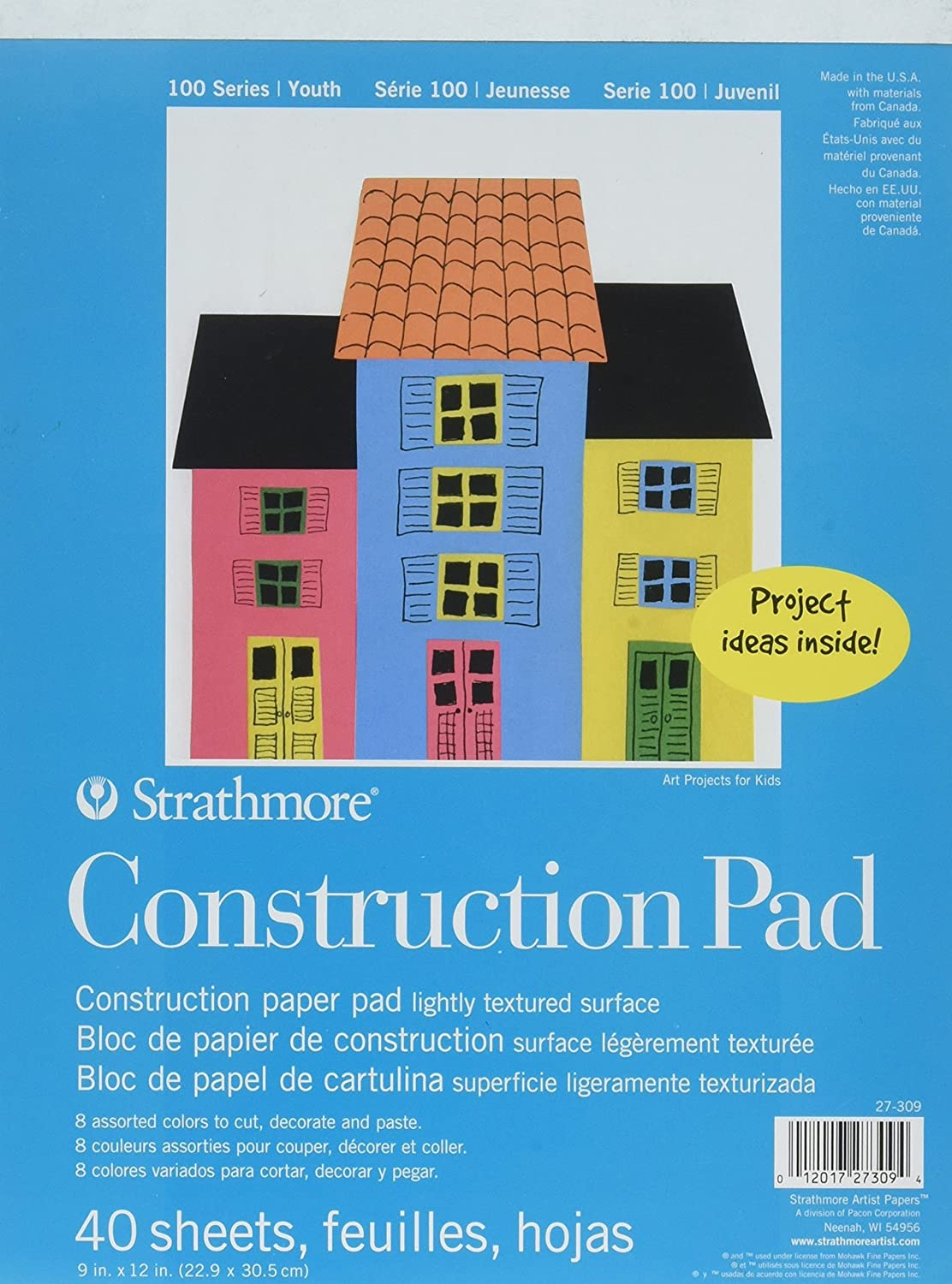 Strathmore Construction Paper Pad