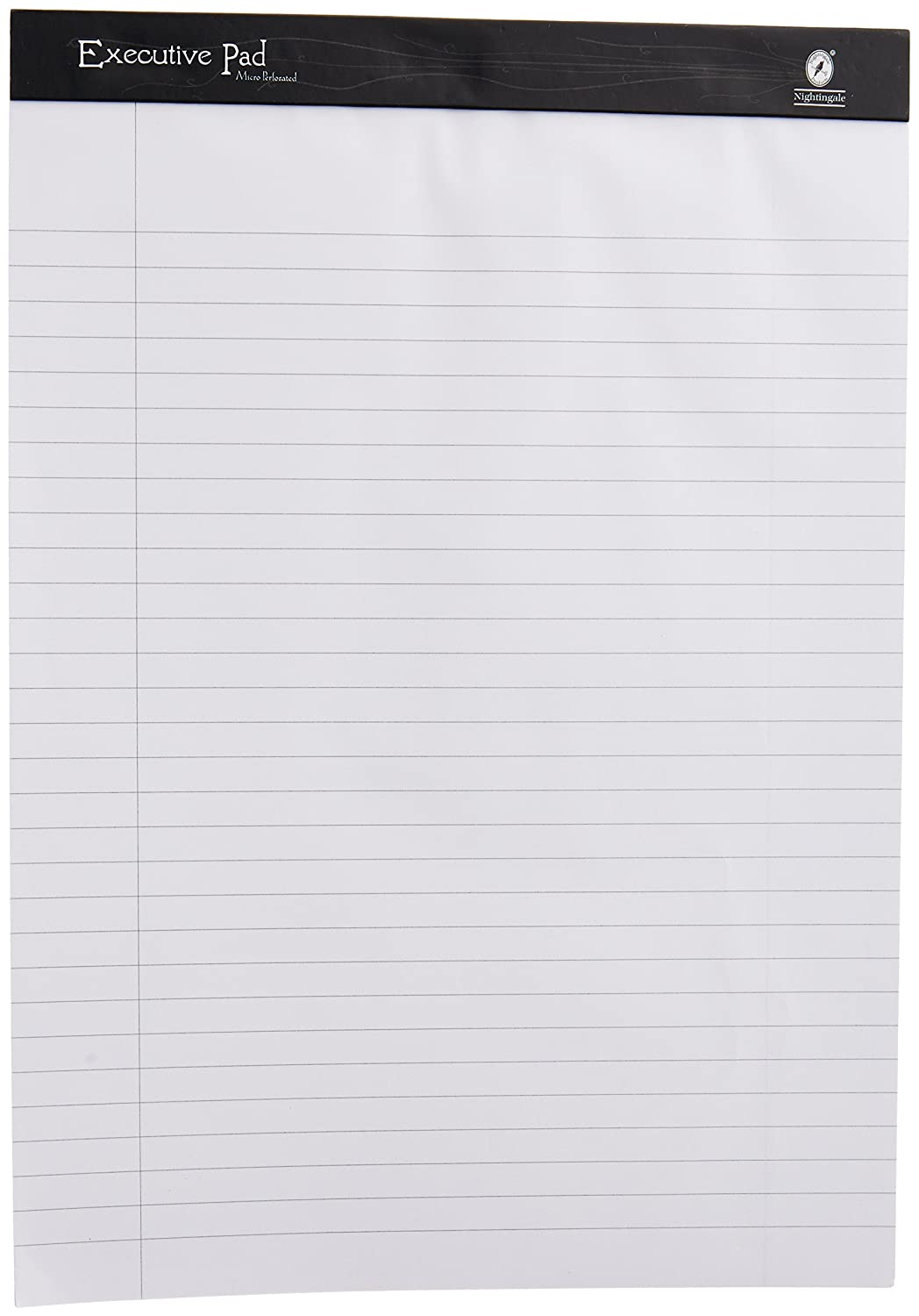 Nightingale Executive Pad White, A4, 100 Pages