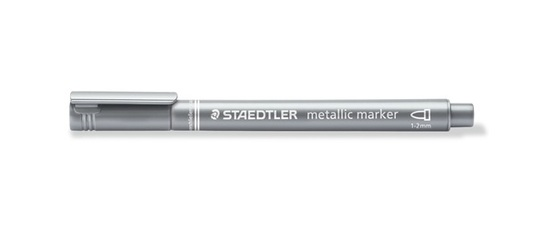 Staedtler Metallic Marker Sliver 8323-81 (Single)