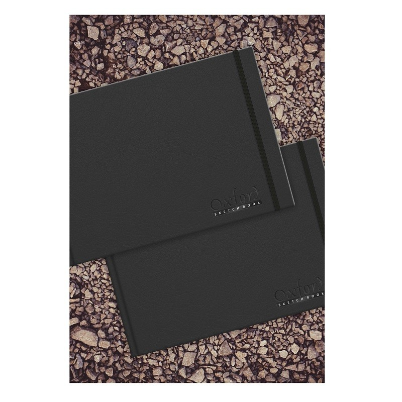 ANUPAM OXFORD SKETCH BOOK SQ 130GSM 124PAGES ACID FREE PAPER