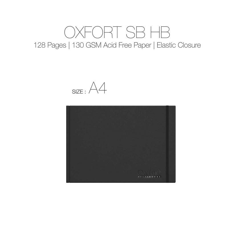Anupam Oxford Sketch Book A4 124pgs 130gsm