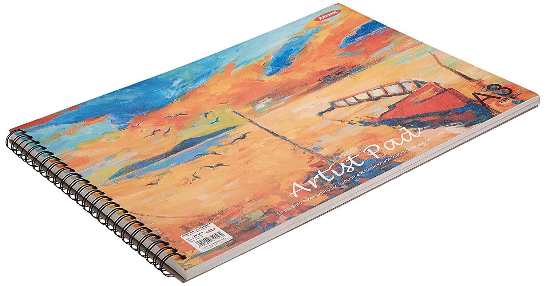Anupam Artist Pad Sketch Pads - A3, 50 Sheets