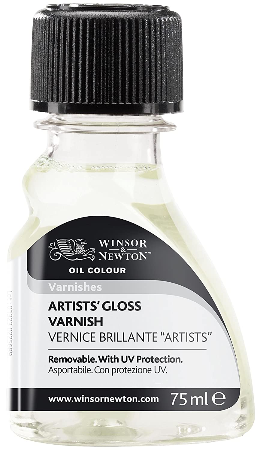 Winsor & Newton Artists' Gloss Varnish, 75ml, 2 Fl Oz