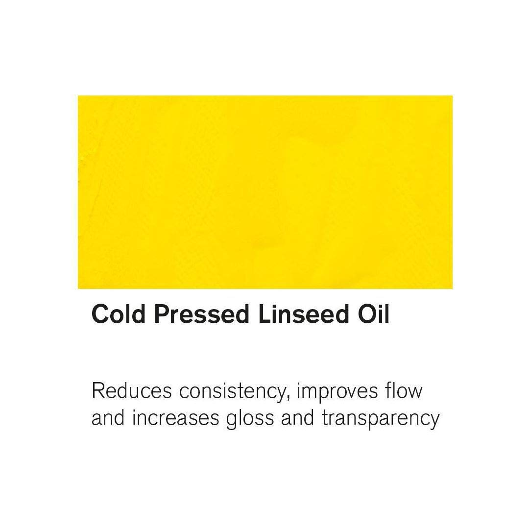Winsor & Newton Cold Pressed Linseed Oil Bottle - 75 ML