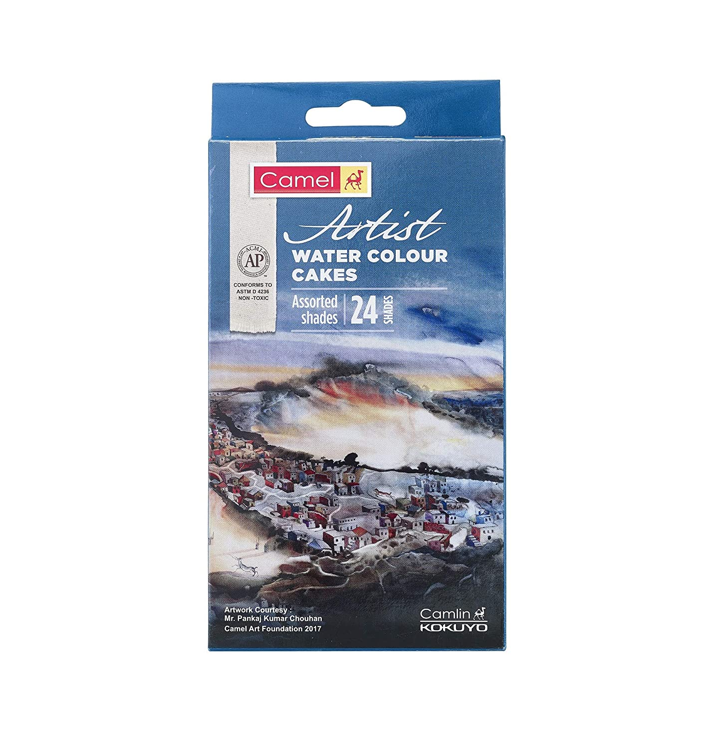 Camel Artist Water Colour Cake Set - Pack of 24
