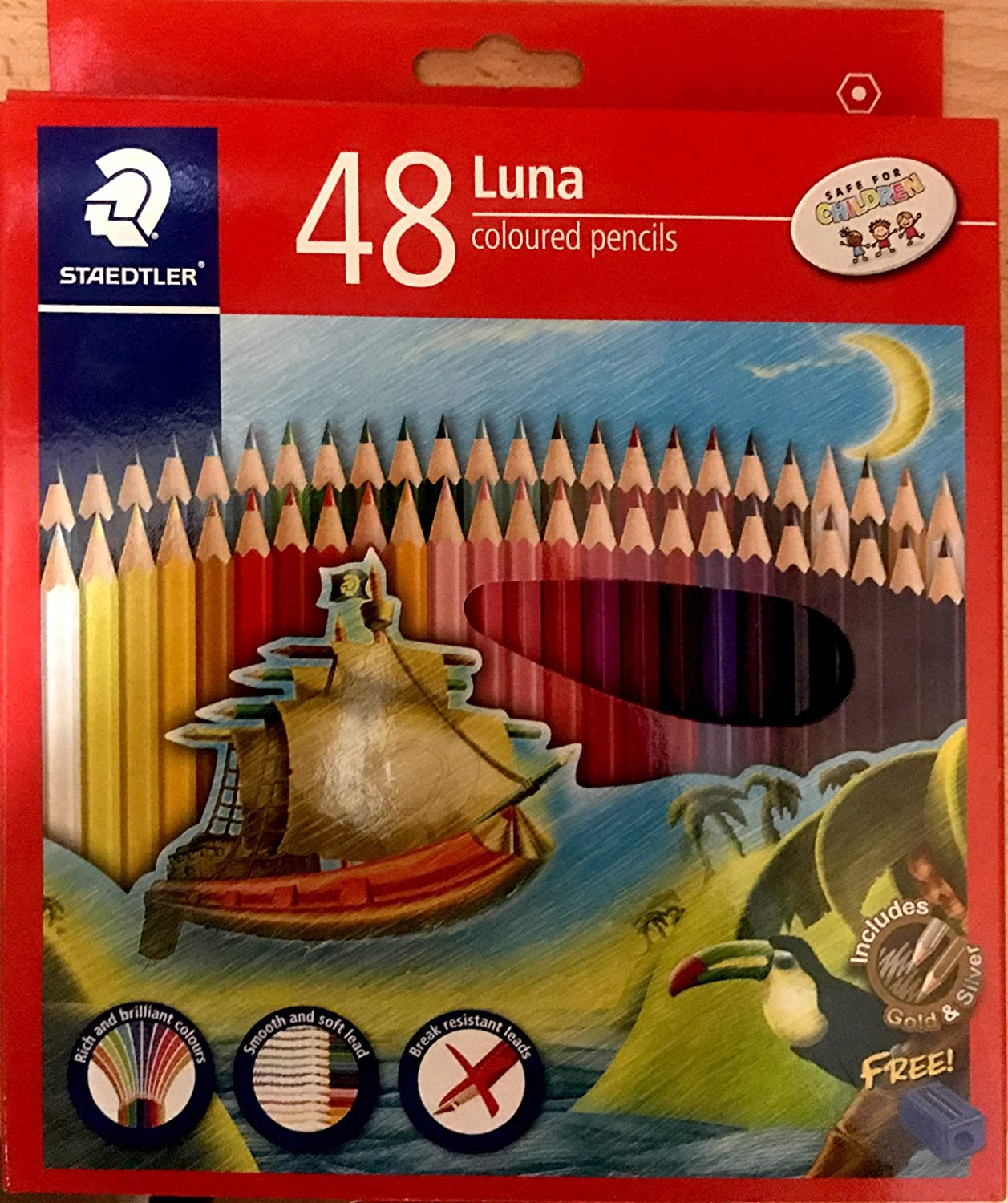 Staedtler Luna Coloured Pencil Set - Pack of 48