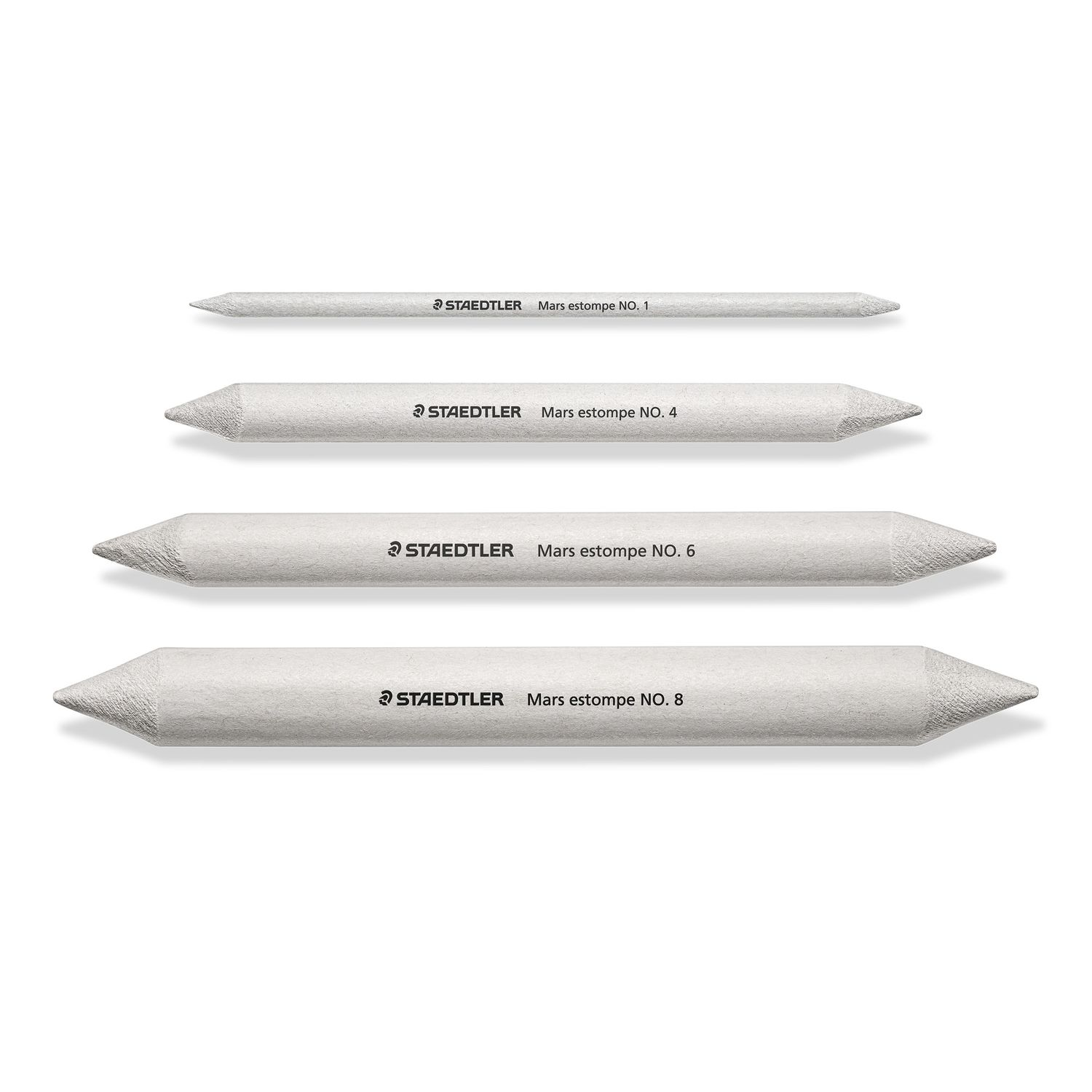 STAEDTLER Blending Stumps 5426 in 4 Different Sizes no. 1/4/6/8