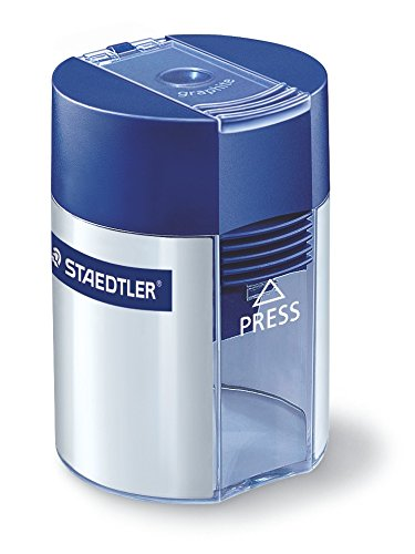 Staedtler 511 001 Noris Tradition Tub Round Metal Sharpener