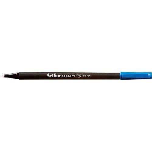 Artline Supreme Fine Pen Fineliner Pens 0.4mm - Bright Vivid Colors For Technical Drawing - Pack 20