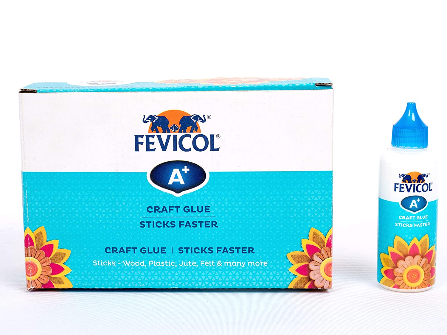 Fevicol A+ Craft Glue Adhesive, Sticks Faster (85g)