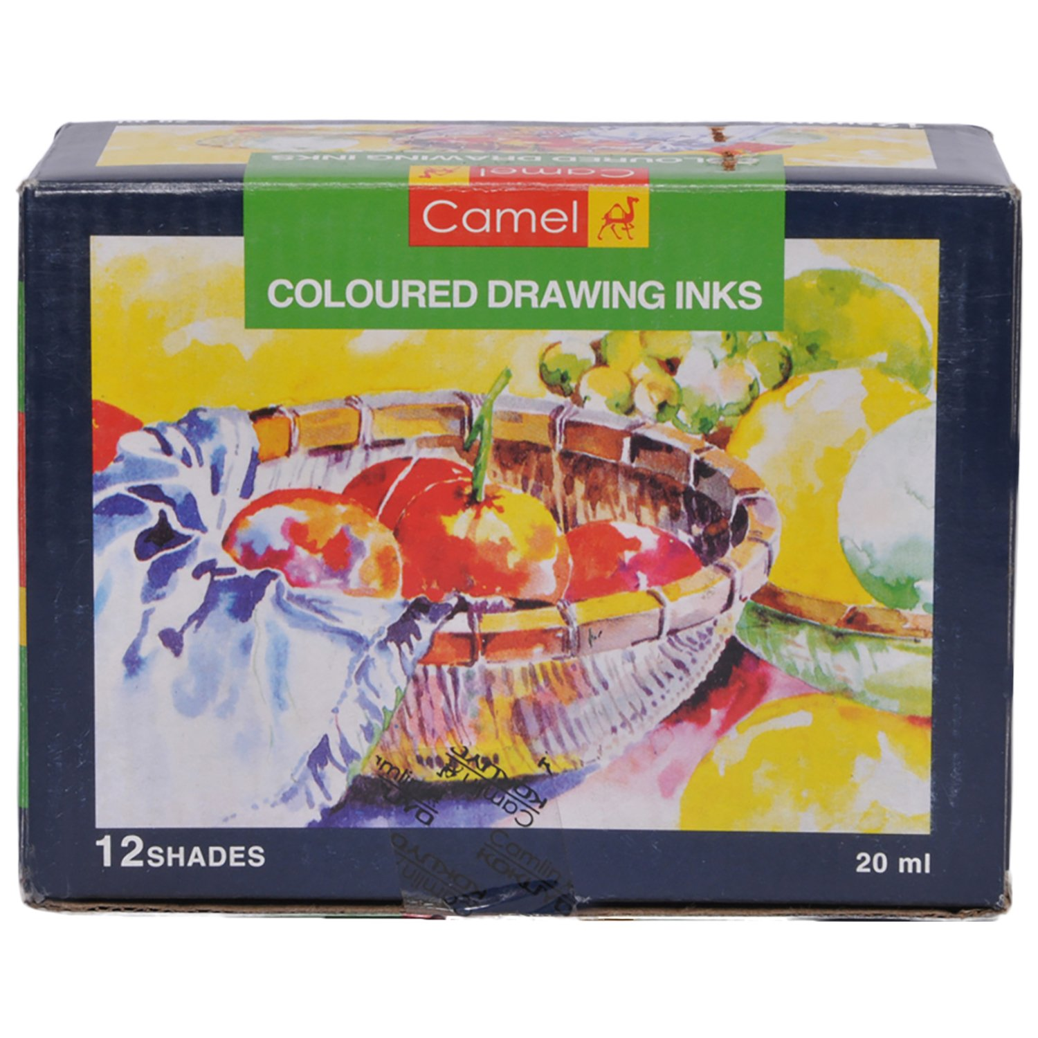 Camlin Coloured Drawing Inks  (Set of 1, Multicolor)