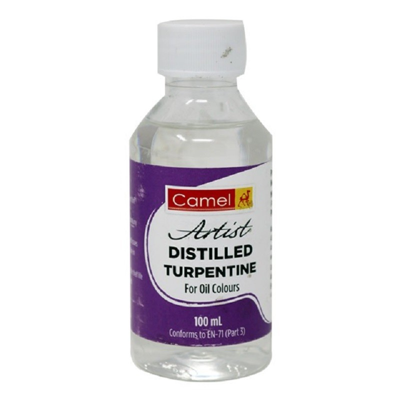 Camlin Camel Distilled Turpentine, 100 ml