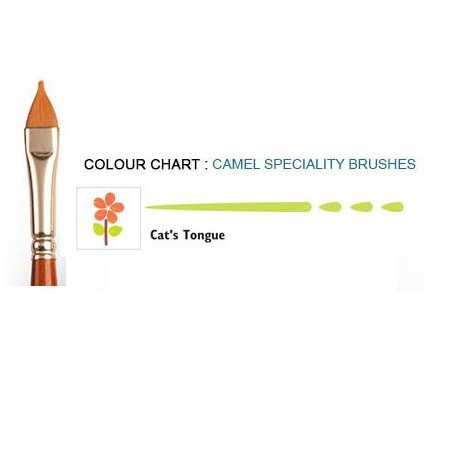 Camlin Hobby Speciality Brushes - Cat's Tongue