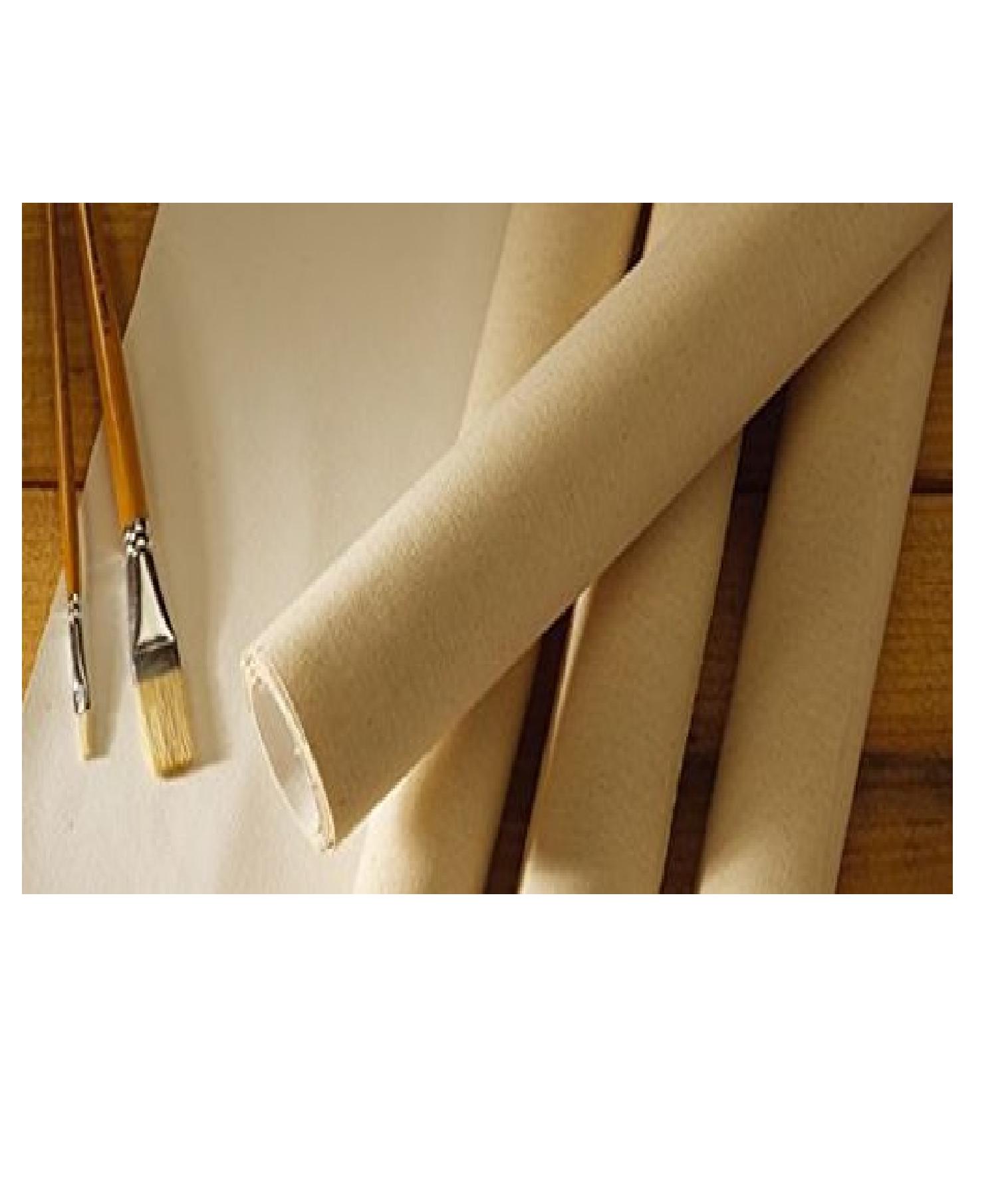 "Camel Professional Cotton Canvas Rolls 28"" X 1 MTR"