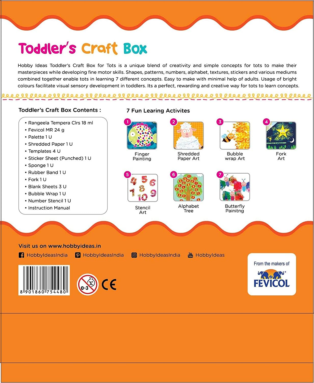 Pidilite Fevicreate Toddler Craft Box