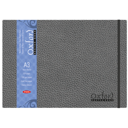 Anupam Oxford Sketch Book (Hb)- 124 Pages, A3