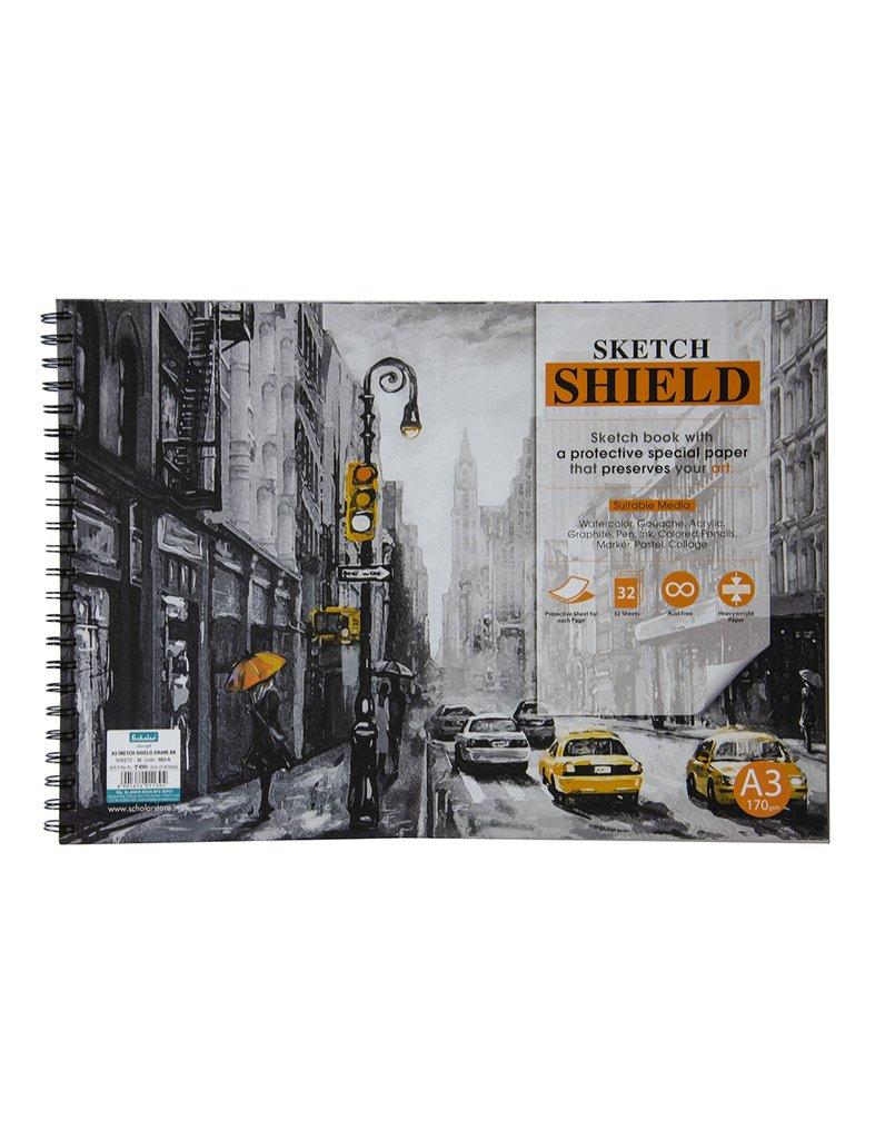 Scholar A3 SKETCH SHIELD DESIGN - A (SS3-A)