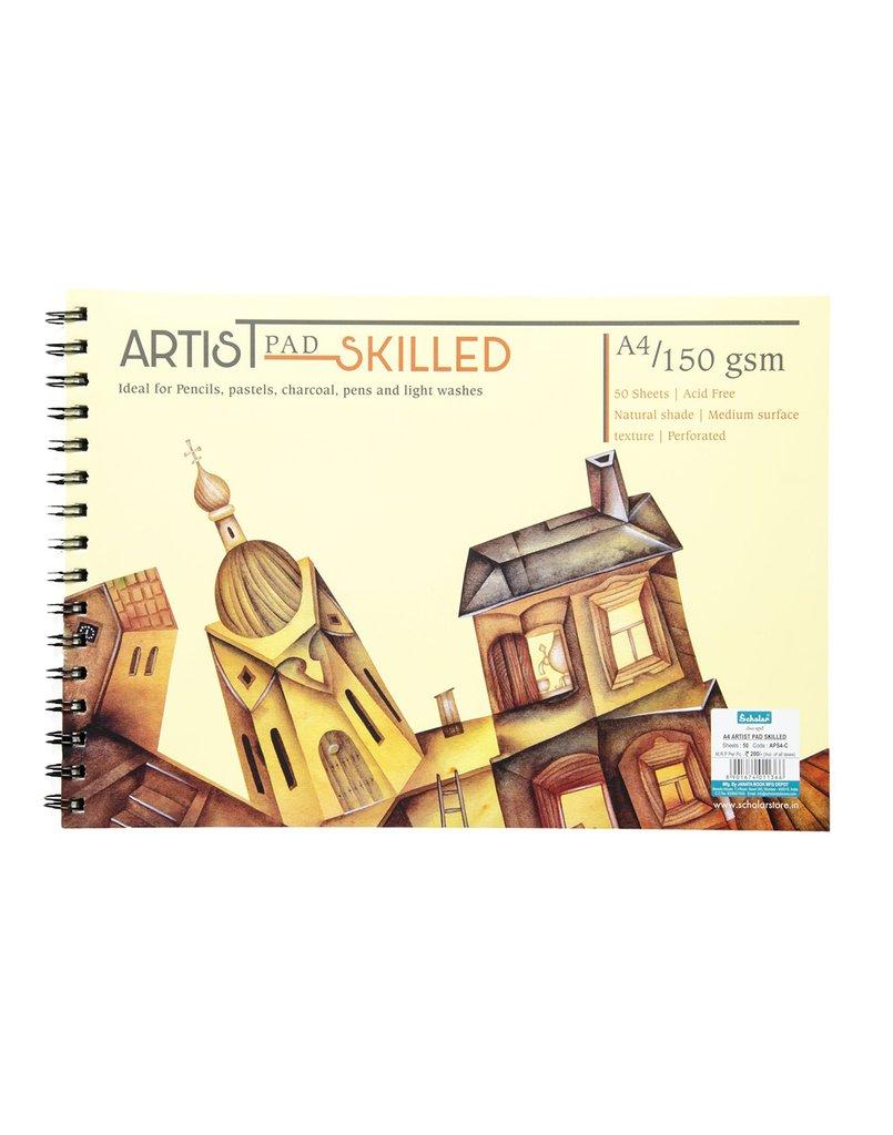 Scholar A4 ARTIST PAD SKILLED - C (APS4-C)