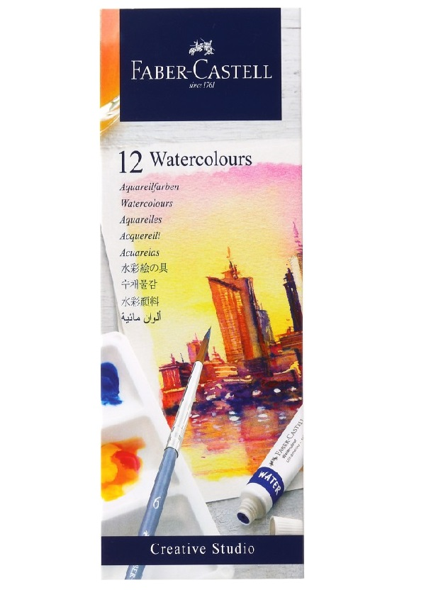 Faber-Castell Creative Studio Watercolors 5ML Set Of 12