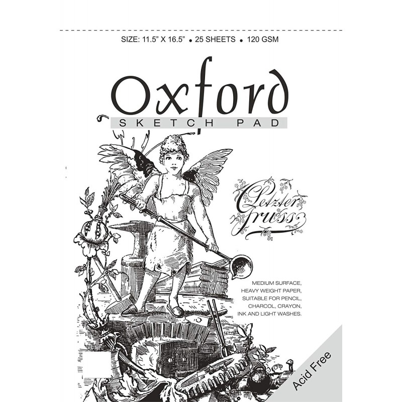 Anupam Oxford Sketch Pad A3 - 25 Sheets, 120GSM