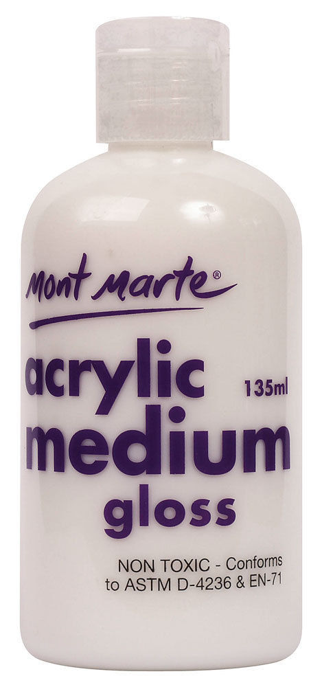 Mont Marte Acrylic Medium - Gloss 135ml