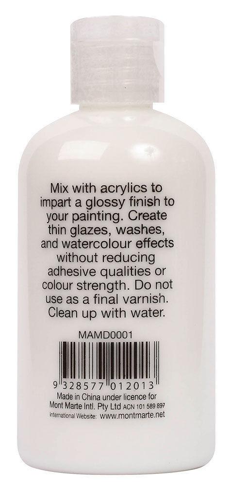 Mont Marte Acrylic Medium - Gloss 135ml