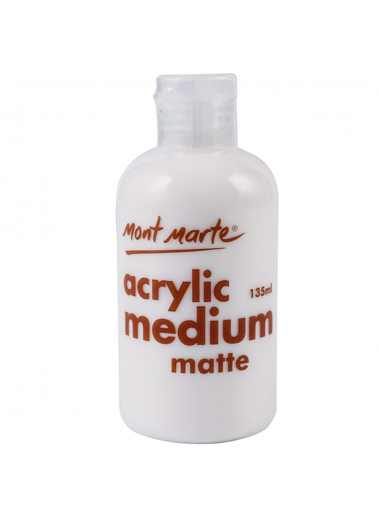 Mont Marte Premium Acrylic Medium - Matte 135ml