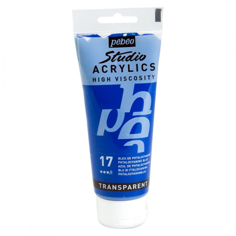 Pebeo Studio Acrylic PHTHALOCYANINE BLUE (17)