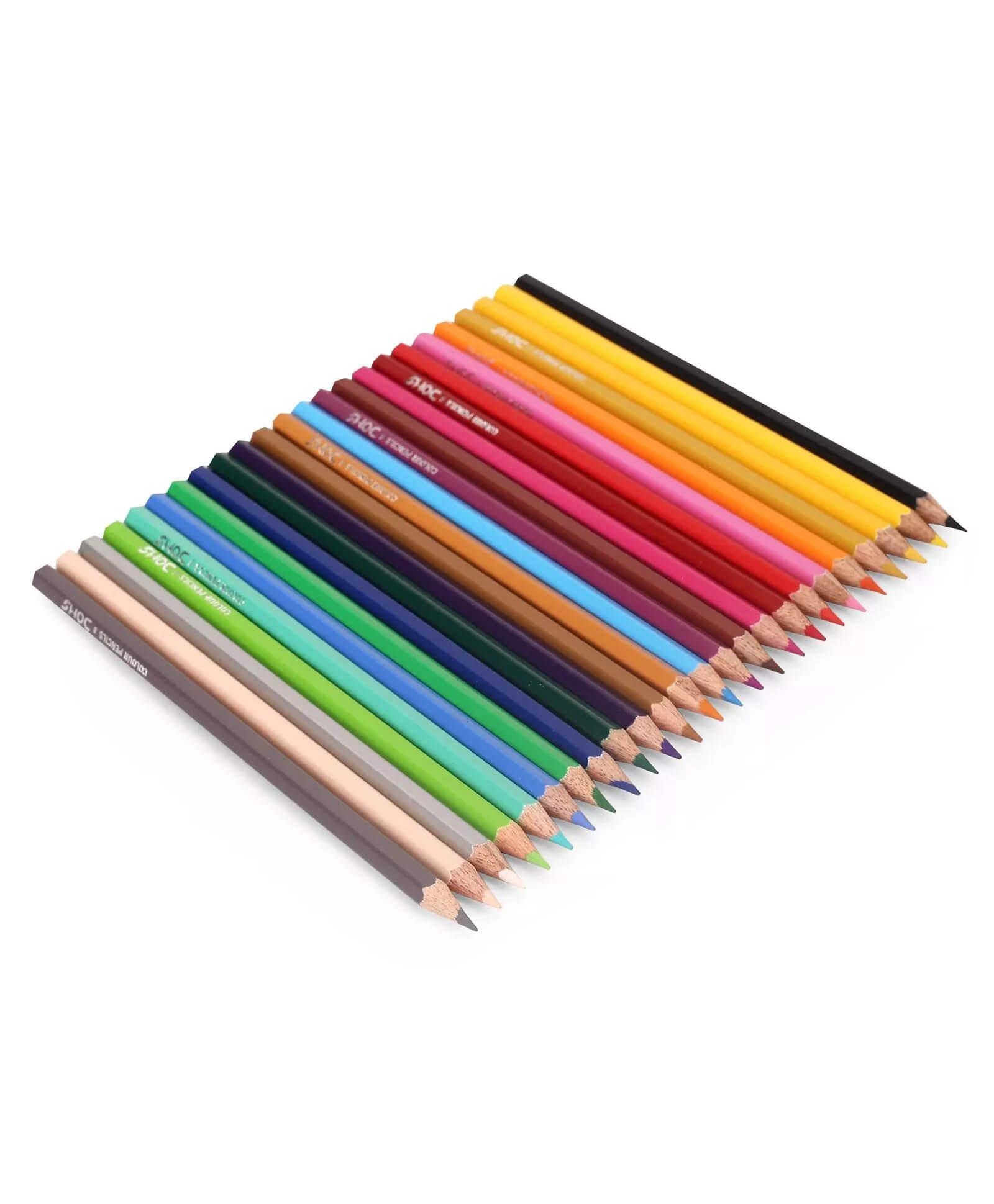 DOMS 24 Shades Color Pencils