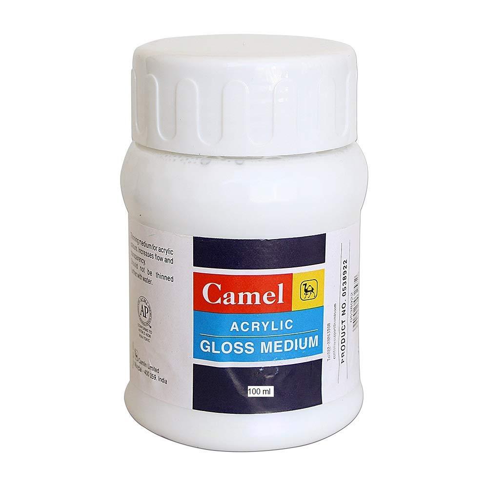 Camel Acrylic Gloss Medium (100ml)