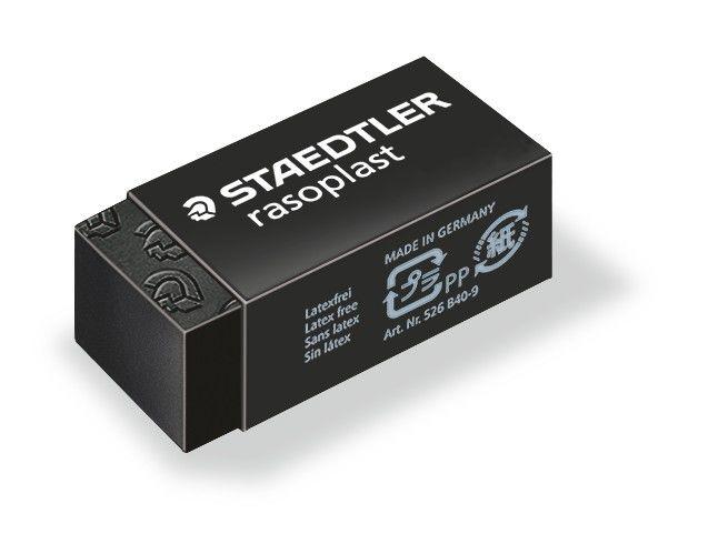 Staedtler 526 B40-9 Rasoplast Eraser - Black