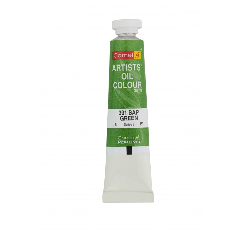 CAMEL ARTIST OIL COLOUR 20ML-391 SAP GREEN