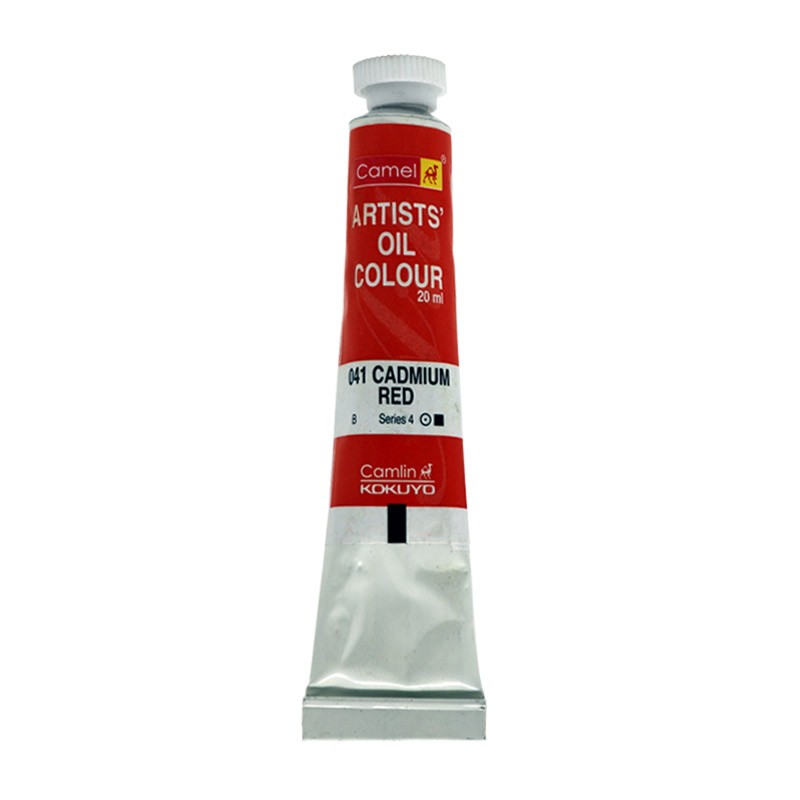 CAMEL ARTIST OIL COLOUR 20ML-041 CADMIUM RED