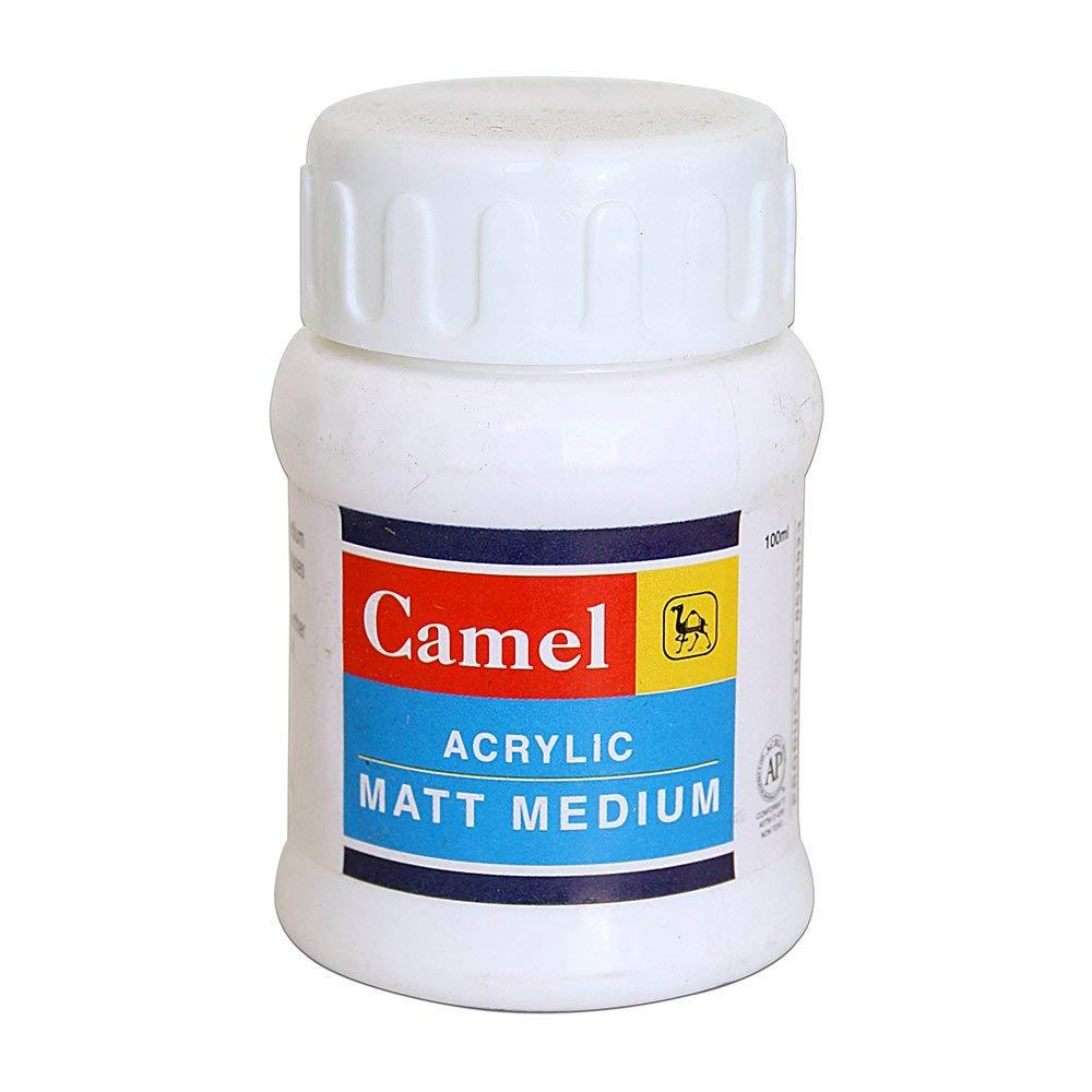 Camel Acrylic Matt Medium (100ml)
