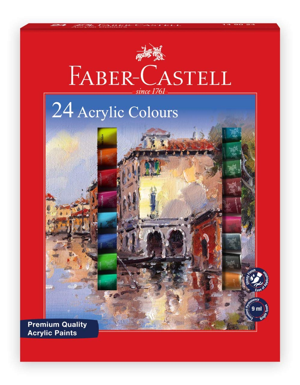 Faber-Castell Student Acrylic 9 ml Set of 24
