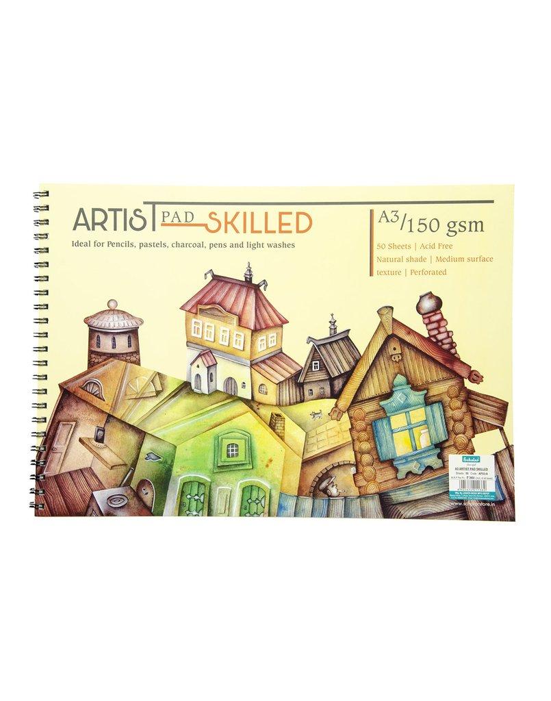 Scholar A3 ARTIST PAD SKILLED - A (APS3-A)