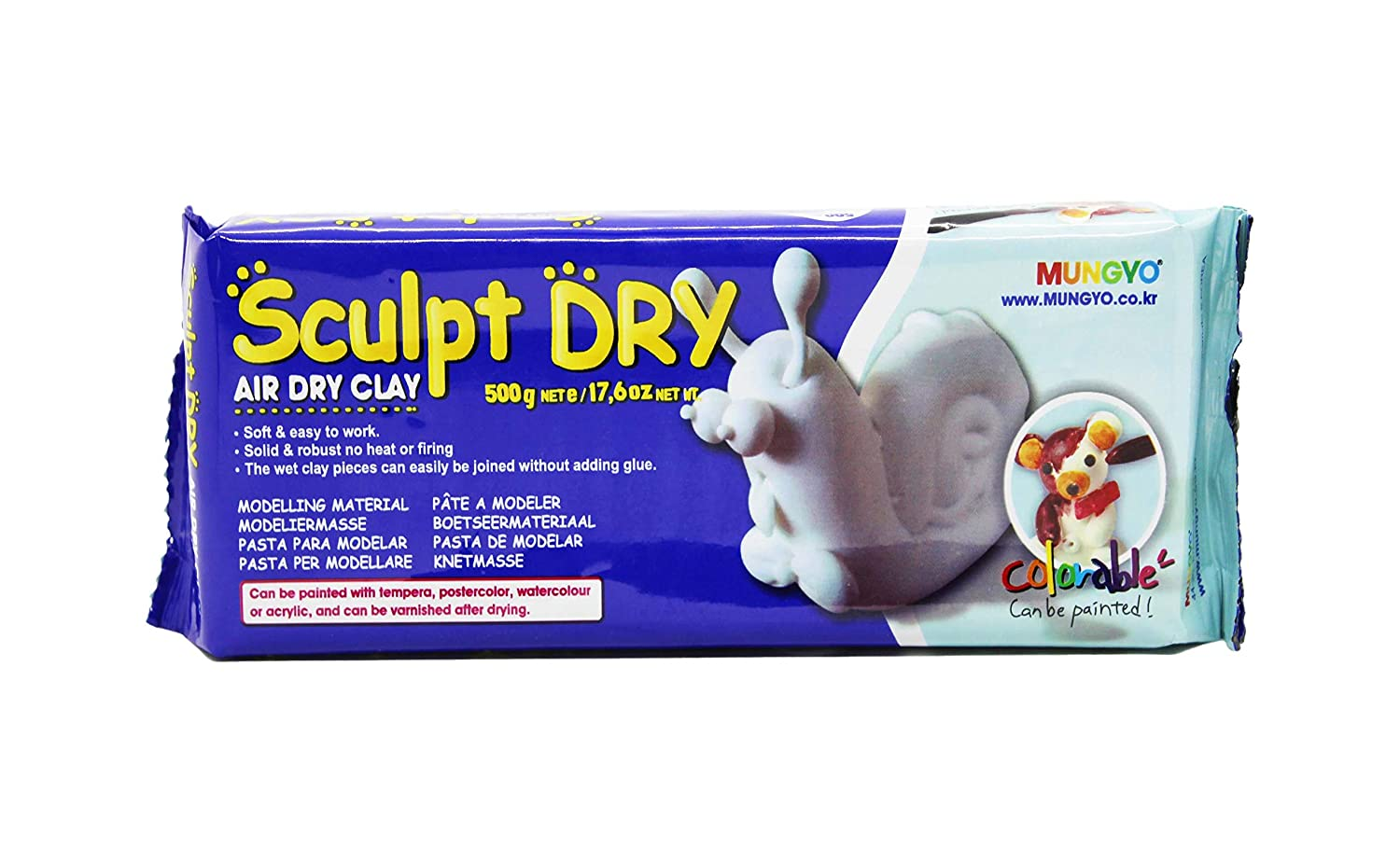 Mungyo Sculpt Dry-White Air Dry Clay