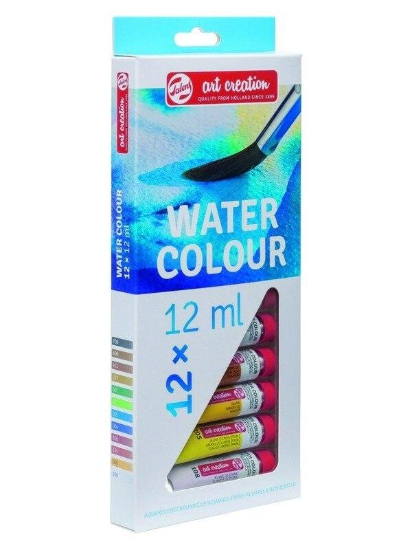 Art Creation Set of watercolor paints 12 colors * 12 ml