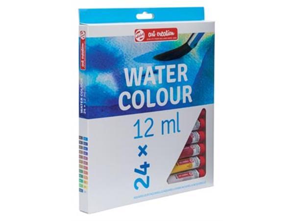 Art Creation Set of watercolor paints 24 colors * 12 ml