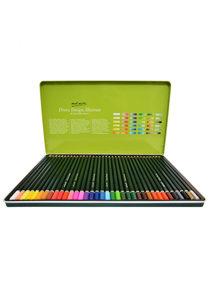 Mont Marte Colour Pencils 36 Piece