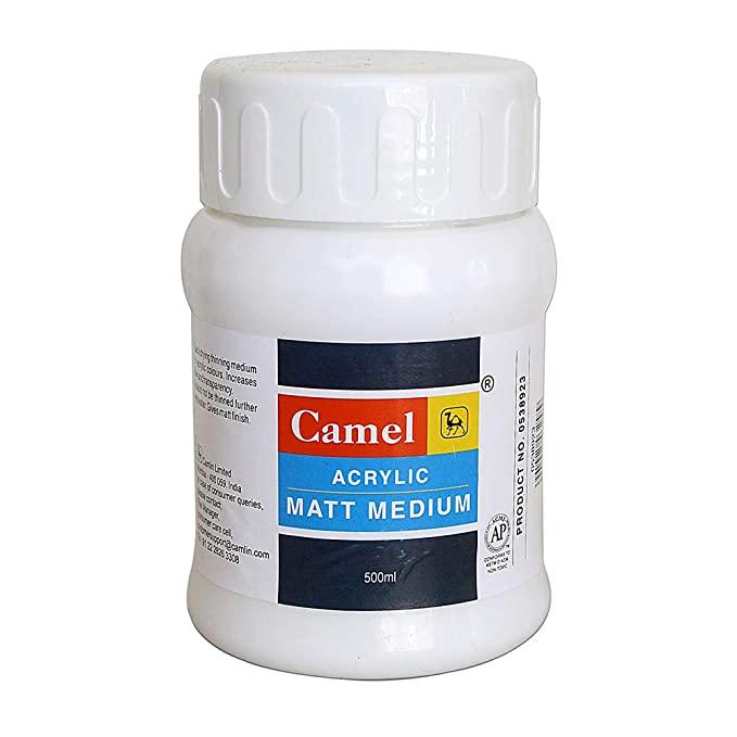 Camel Acrylic Matt Medium (500ml)