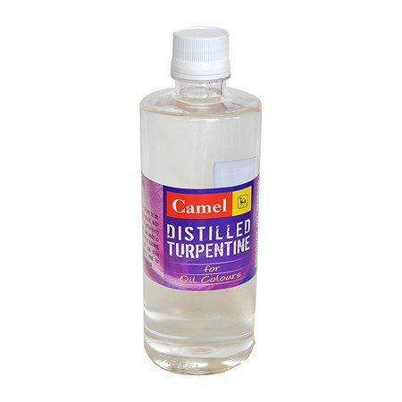 Camlin Distilled Turpentine for Oil Colours 500ml