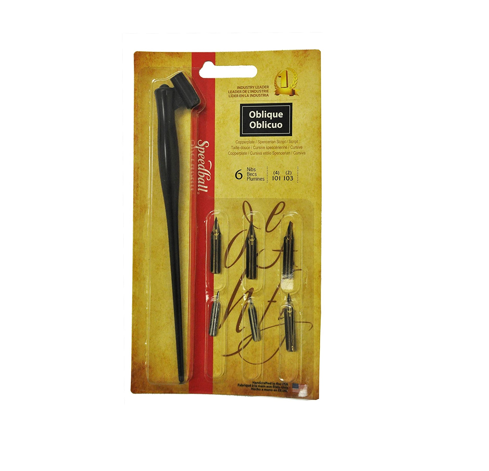 Speedball Art Products Oblique Pen Set