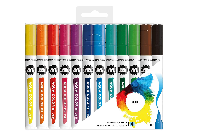 Molotow Aqua Colors Brush set of 12